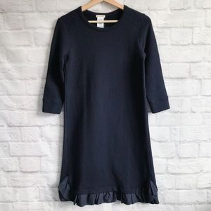 J. Crew Crewcuts Ruffle-hem Sweatshirt Dress